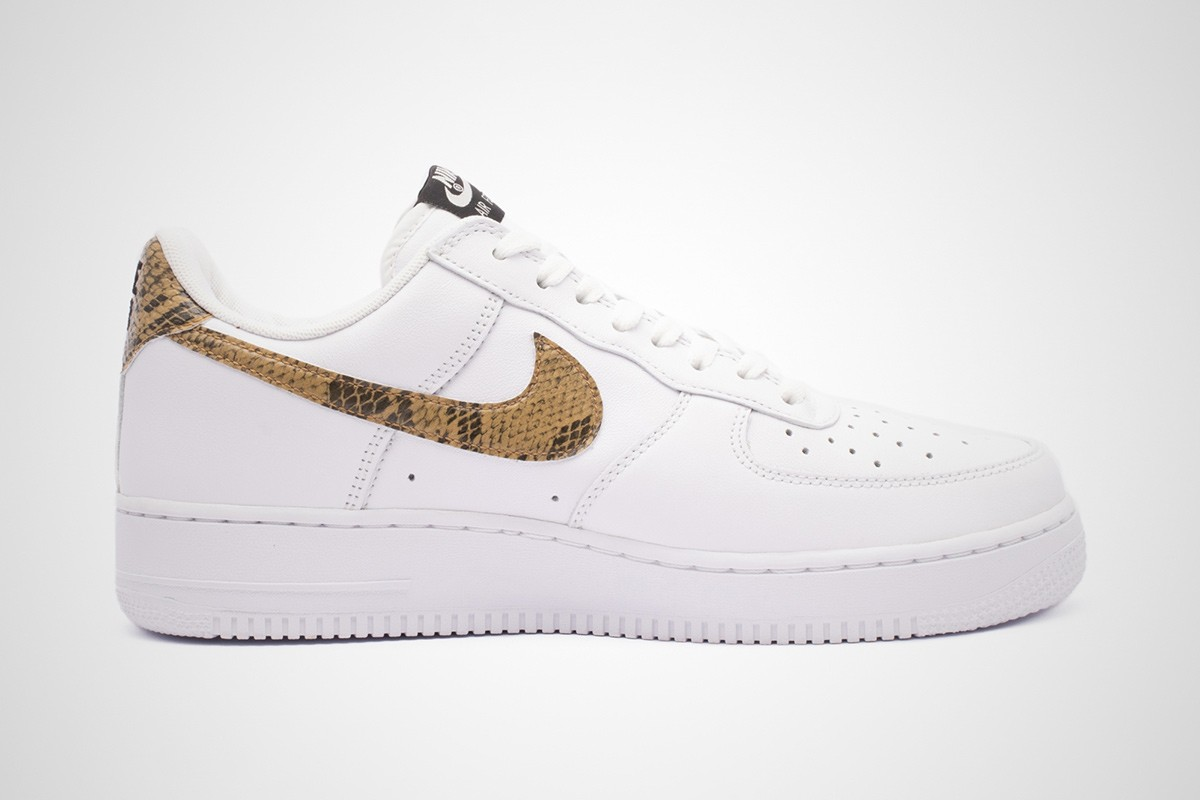 2air force 1 pelle marrone