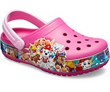crocs 2019 pe bambino fuchsia-kids-crocs-fun-lab-paw-patrol-band-clog- 205509 670 is
