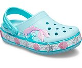 crocs 2019 pe bambino ice-blue-kids-crocs-fun-lab-mermaid-band-clog- 205646 4o9 is