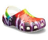 crocs 2019 pe bambino multi-kids-classic-tie-dye-graphic-clog- 205451 90h is