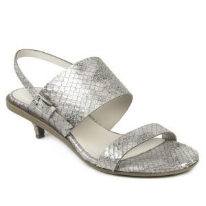 del carlo 2019 pe donna sandal 10721 2 argento