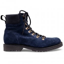 joseph cheaney 2019 pe donna cheaney penny hiker boot in navy suede p914 6266 thumb