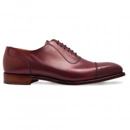 joseph cheaney 2019 pe uomo cheaney brackley oxford in burgundy calf leather p963 6775 thumb