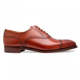 joseph cheaney 2019 pe uomo cheaney islington semi brogue in dark leaf leather p807 6779 thumb