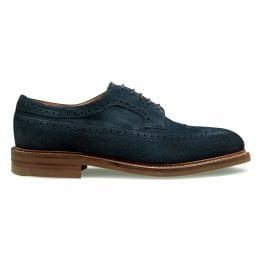joseph cheaney 2019 pe uomo cheaney oliver lll r longwing brogue in navy suede p923 6586 thumb
