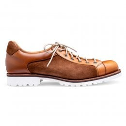 joseph cheaney 2019 pe uomo cheaney tom monkey shoe in english tan chromexcel leather fox suede p926 6565 thumb